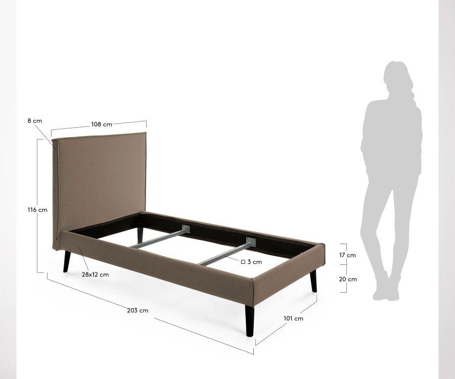 Lit 140x190cm ABEILLAN