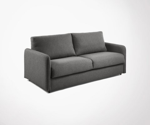 Canapé convertible en tissu 140cm GAYA