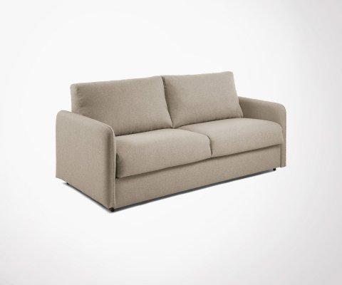 Canapé convertible tissu 160cm GAYA