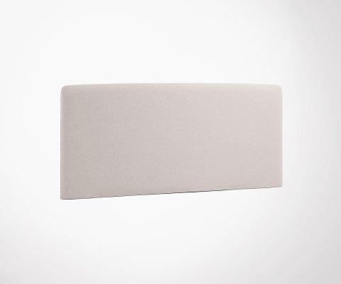 Tête de lit tissu pour matelas 150cm SERVIAN