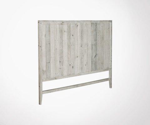 Tête de lit bois de pin pour matelas 160x200cm DALI