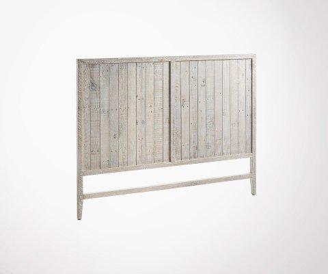 Tête de lit bois de pin aspect vieilli 174x130cm DALI