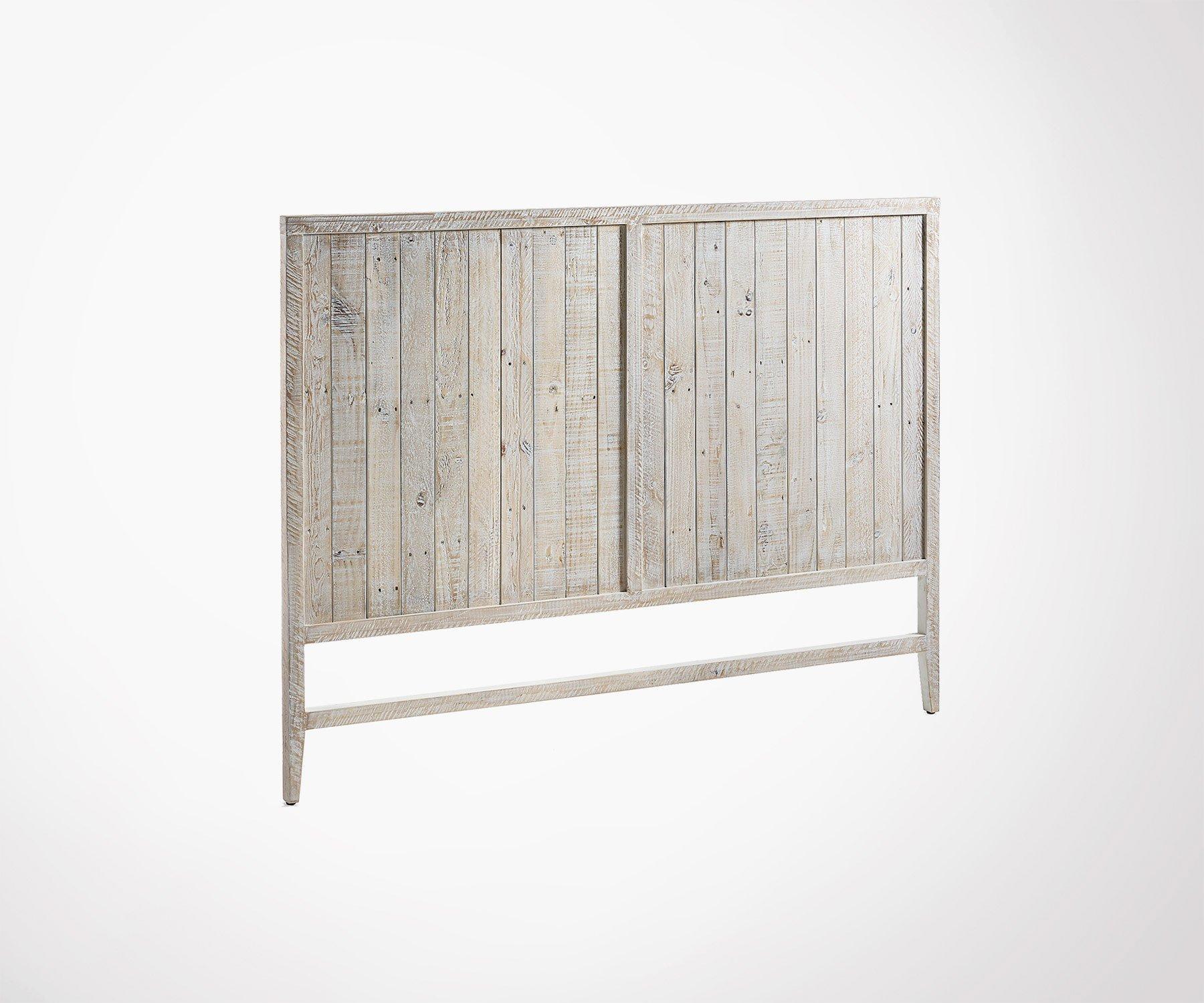 Tete De Lit Ethnique tête de lit style campagne 174x130cm pin recyclé effet vieilli
