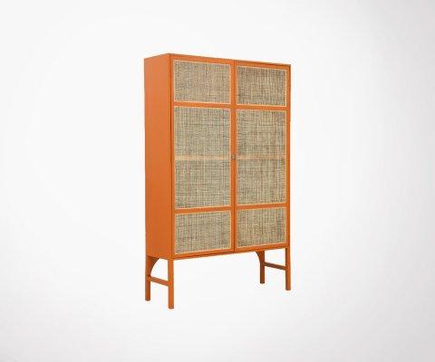 Armoire design style rétro en bois - RAMI