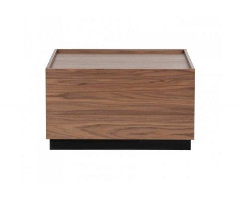 Table basse carré 82x82cm bois de pin PINO - Vtwonen