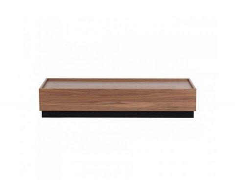 Table basse moderne bois de pin PINO - Vtwonen