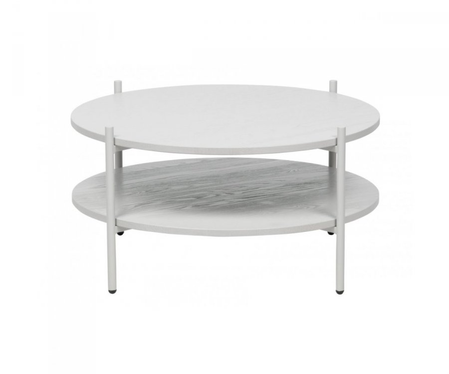 Table basse ronde bois et métal FABI - BePureHome