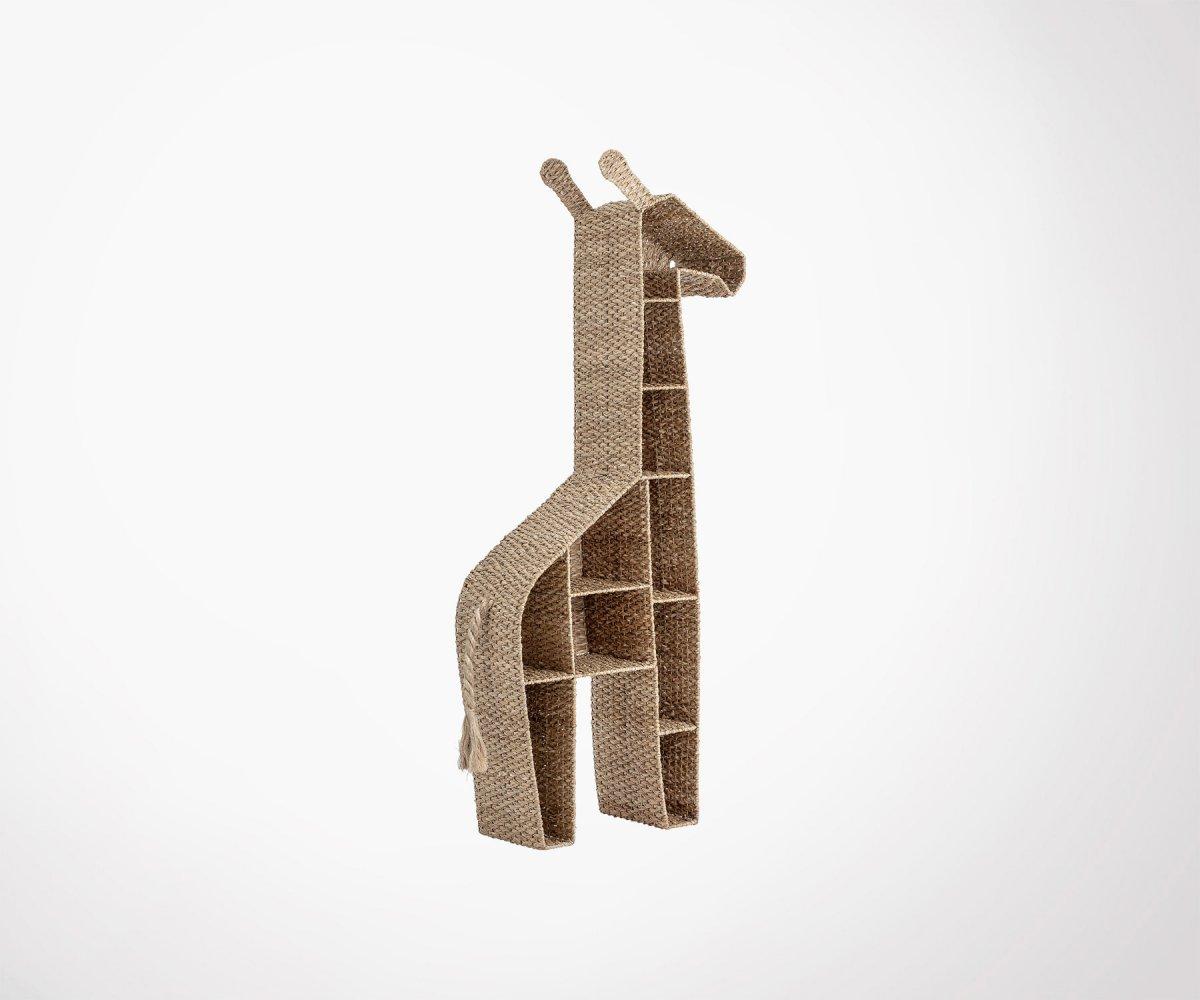 Etagere Pour Chambre Enfant etagère chambre enfant forme girafe matière naturelle