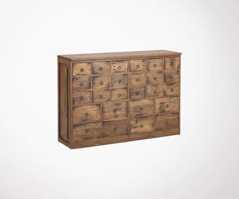 Buffet rétro bois recyclé avec tiroirs DOMI - Bloomingville