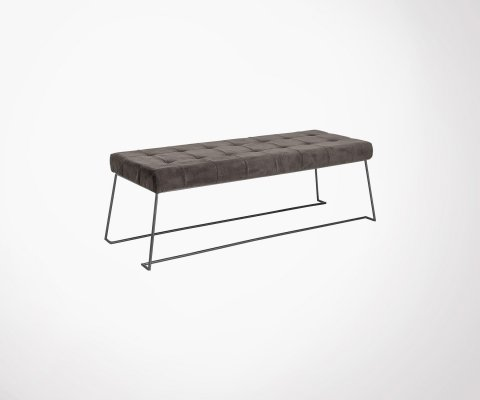 Banc velours style vintage ILAME - Bloomingville