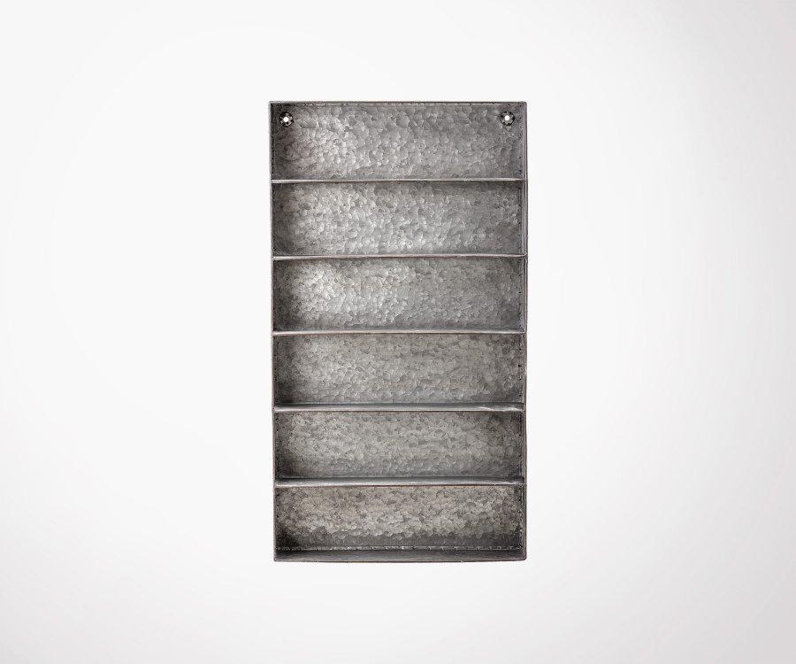 Étagère industrielle métal JEREMY - Bloomingville