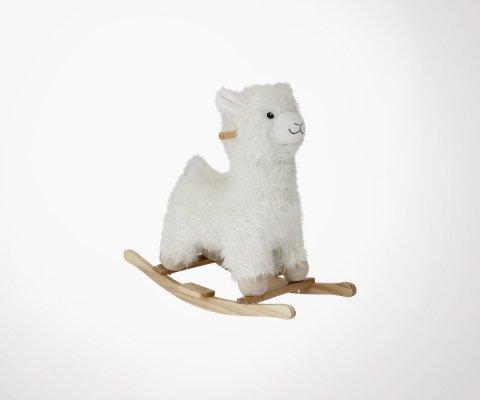Cheval à bascule lama pour enfant LOUMI - Bloomingville