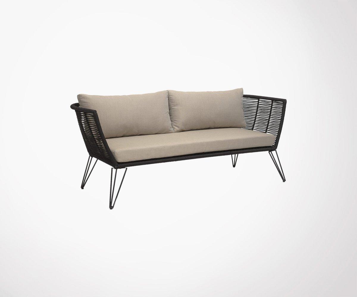 Photo De Canape Moderne canapé d'extérieur style moderne melanie, marque bloomingville
