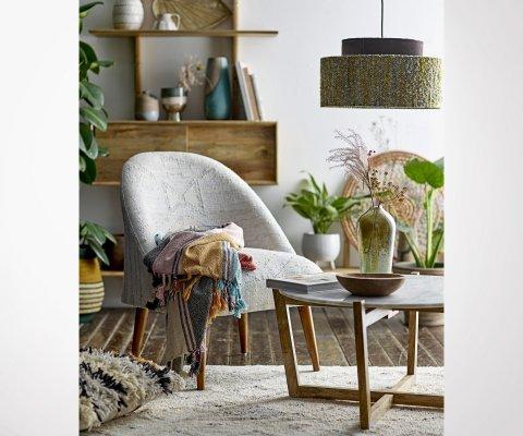 Table basse bois et marbre SAFA - Bloomingville