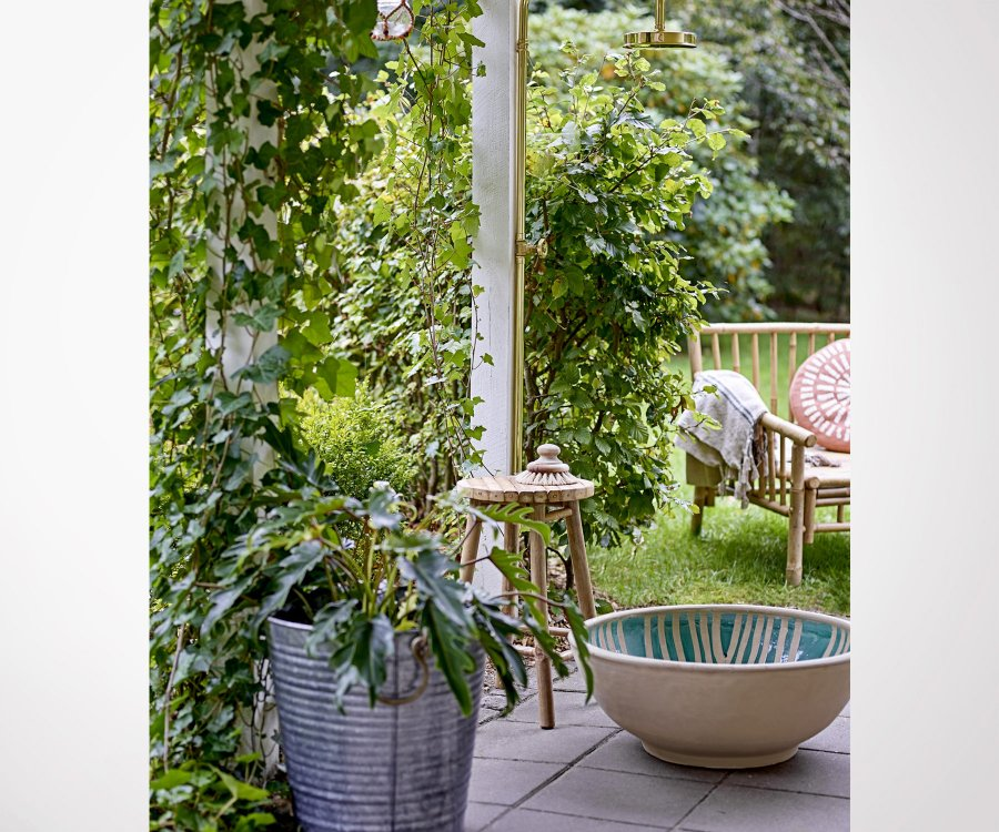 Fauteuil bambou outdoor SOLAL - Bloomingville