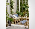 Fauteuil bambou 2 personnes outdoor SOLAL - Bloomingville