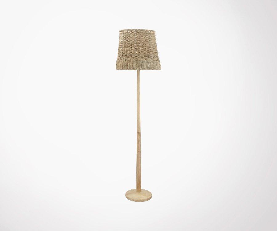 Lampe à poser rotin style bohème YARA - Bloomingville