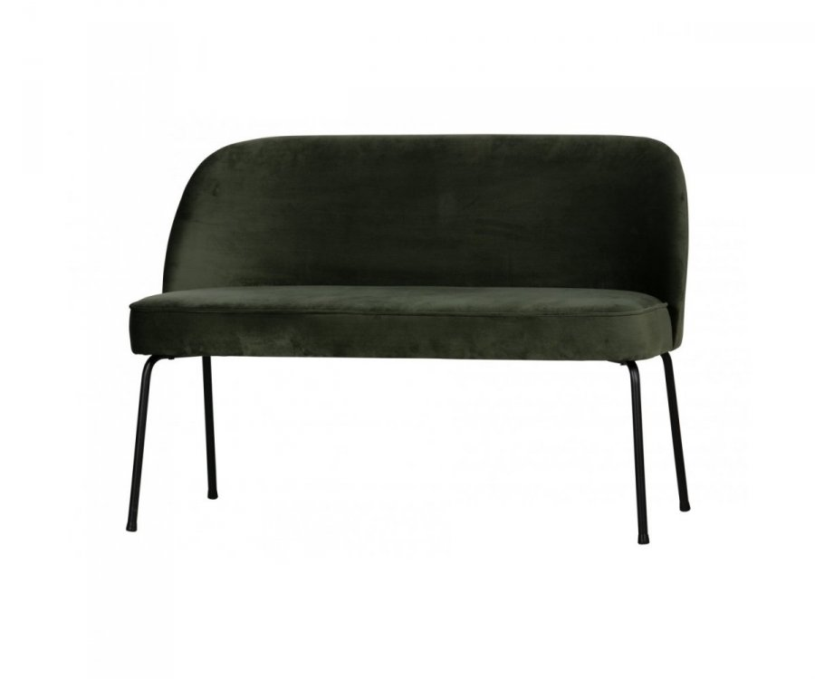 Petit canapé moderne en velours SALVA