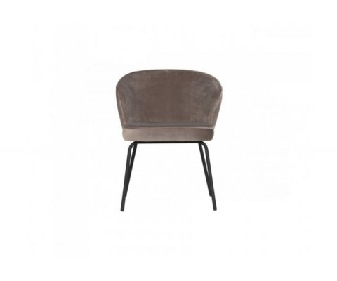 Chaise moderne velours HASH