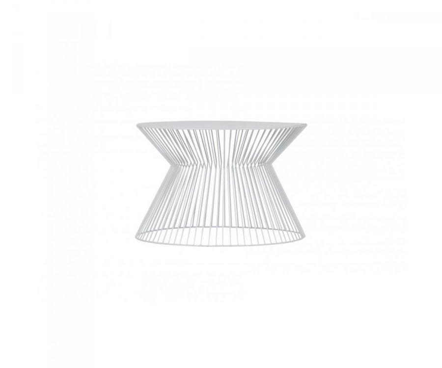 Table d'appoint art déco métal CORNEILLE - Woood