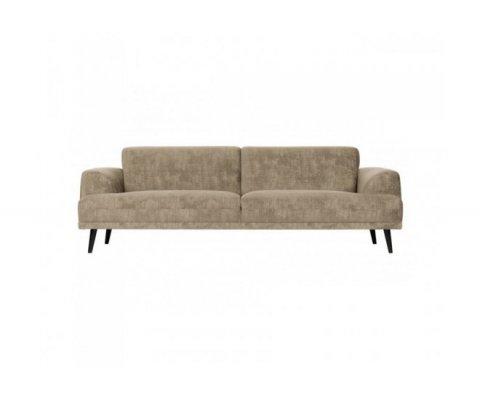 Canapé 3 places en tissu NADINE - Vtwonen