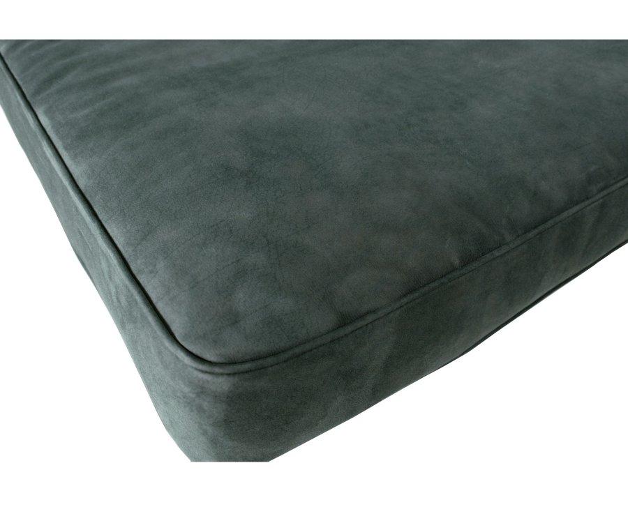 Canapé angle droit aspect daim BRINA - Vtwonen