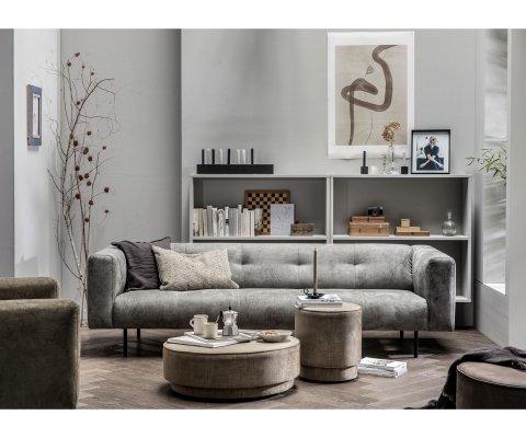 Canapé 4 places cuir DOHA - Vtwonen