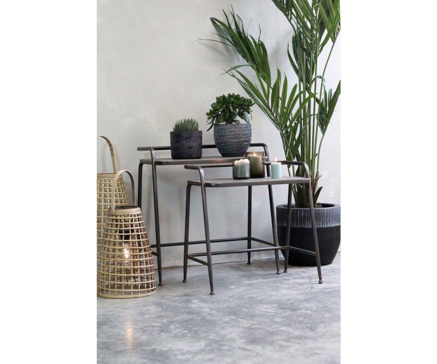 Set de 2 sellettes style atelier-TREVISSE