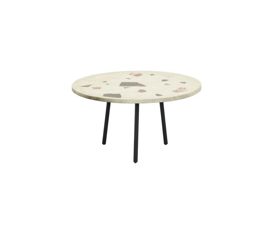 Table basse ronde terrazzo-TEMAL
