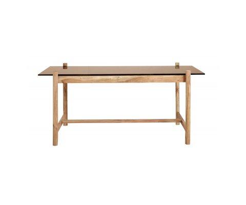 Table bois et verre-ZOLAK