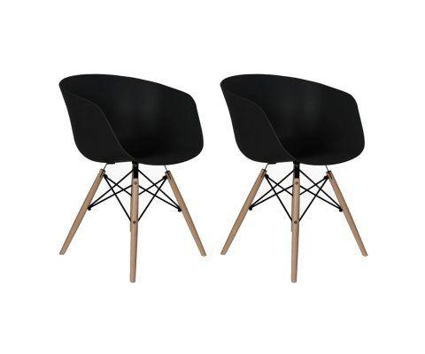 Lot 2 fauteuils scandinaves RAY