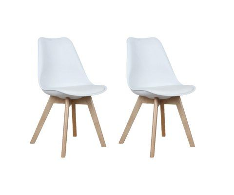 Lot 2 Chaises Design BERNICE
