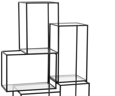 Console verre et métal-SITA