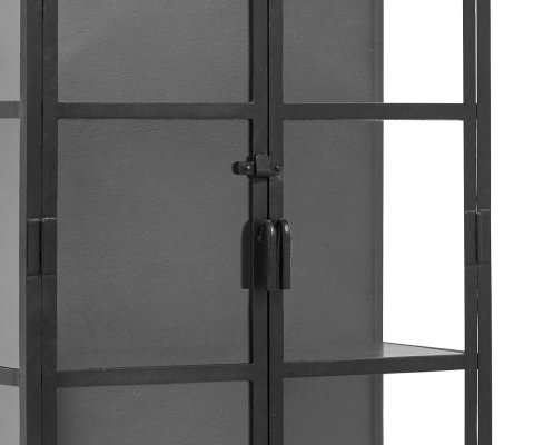 Grande vitrine verre et métal-ALBA