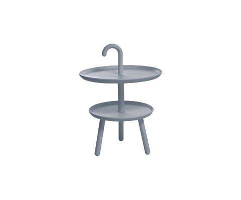 Petite table d'appoint design plastique UMBRE