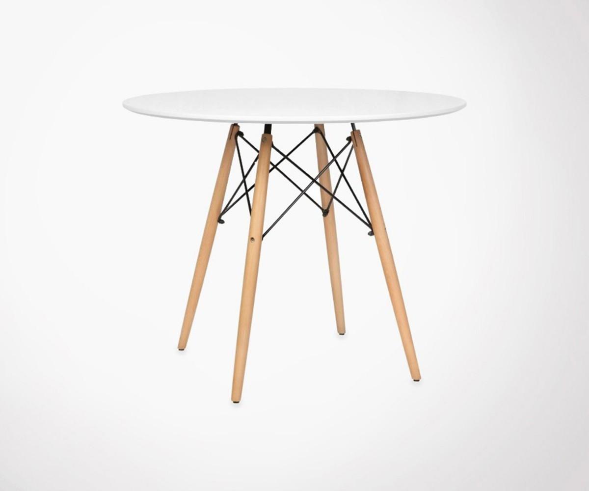 table manger dsw style scandinave ann e 50. Black Bedroom Furniture Sets. Home Design Ideas