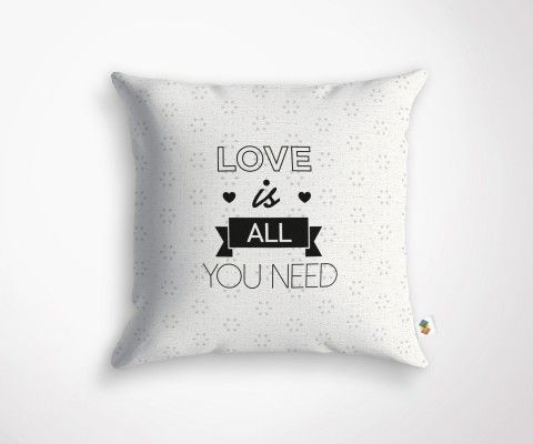 LOVE IS ALL YOU NEED cushion - 45x45cm