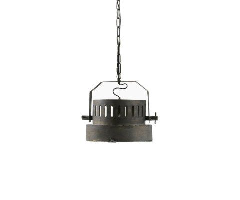 Suspension industrielle 32cm en métal PITTA