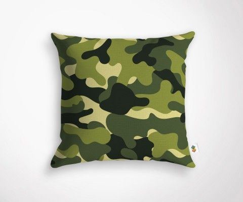 CAMEO cushion - Green - 45x45cm