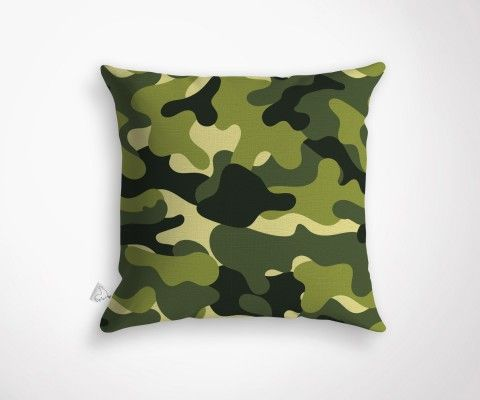 CAMEO cushion - Green - 45x45cm
