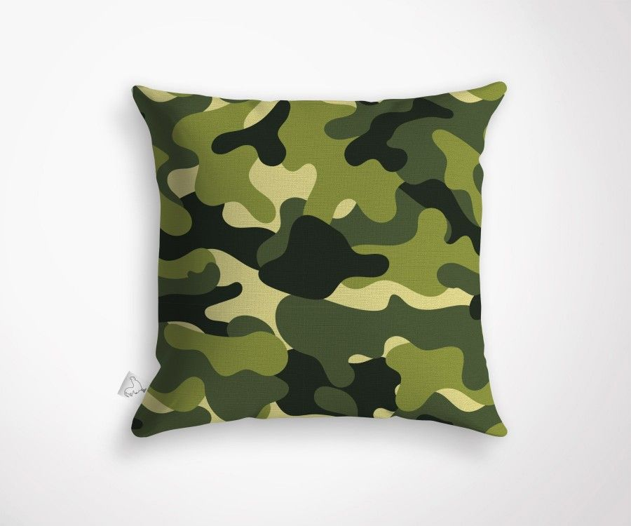 Coussin d coration tendance motif camouflage - Decoration coussin design ...