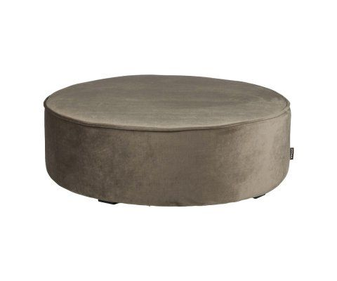 Grand pouf rond XL velours SAMPAIO