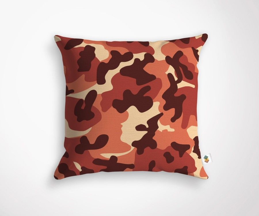 Coussin CAMEO - Rouge - 45x45cm