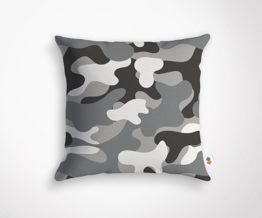 CAMEO cushion - Grey - 45x45cm