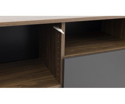Buffet design 163cm bois style moderne DENO