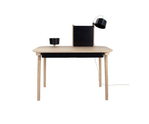 Bureau style scandinave en bois ADELE - Dizy