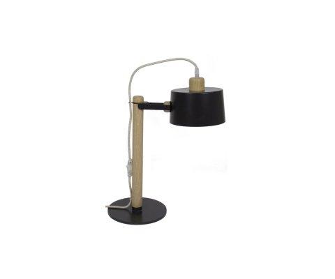 Petite lampe à poser bois et métal SUZANNE - Dizy