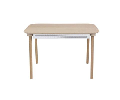 Table à manger et tiroir scandinave-CELESTINE