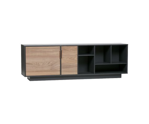 Buffet bas design bois 187cm LAFFERTY