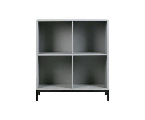 Petite bibliothèque design bois 81cm LOWA
